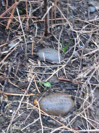 Lotto's grave