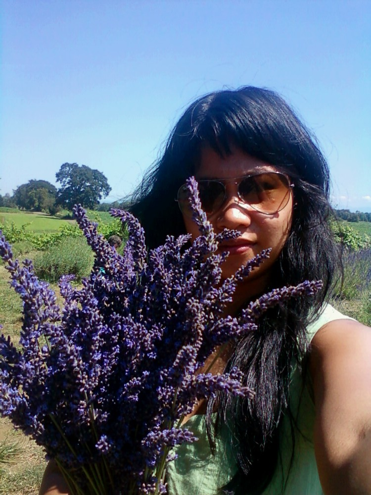 Me and lavendar